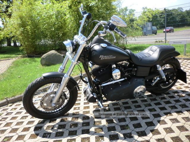 2012 Harley Davidson  Harley-Davidson Street BOB Motorcycle Chopper/Cruiser photo