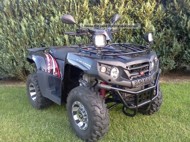 2013 Aeon  CROSS COUNTRY 400 2x4 Motorcycle Quad photo