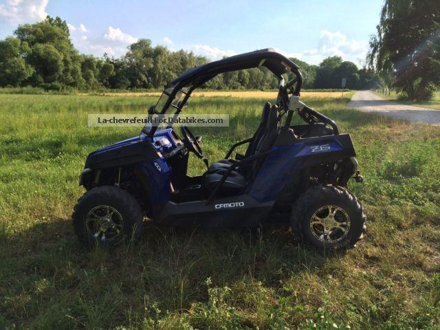 2014 Cfmoto Terracross 625 Z6 Buggy Quad
