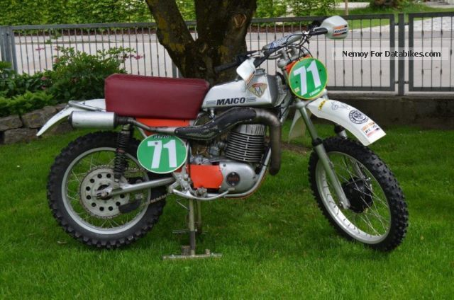 1964 Maico  250 Motocross Motorcycle Dirt Bike photo