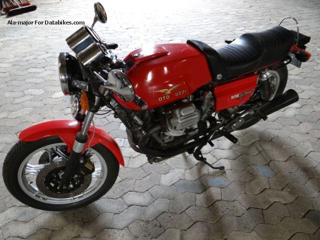 1981 Moto Guzzi  Le Mans 850 Motorcycle Motorcycle photo