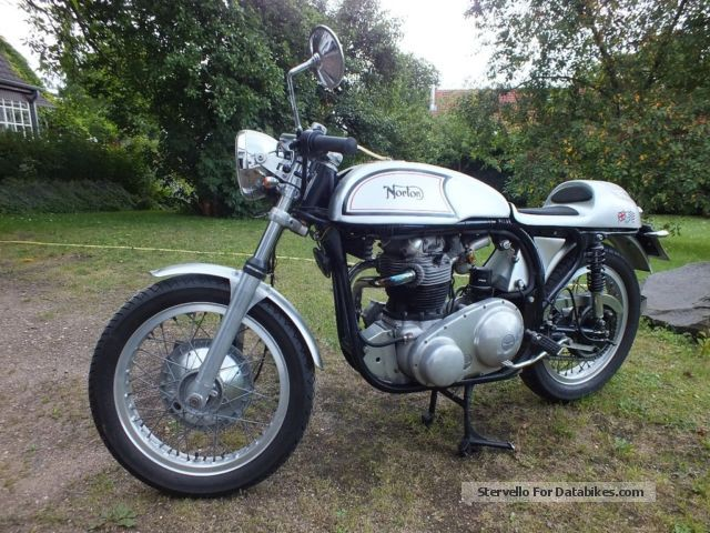 Norton  Dominator Cafe Racer 1953 Vintage, Classic and Old Bikes photo