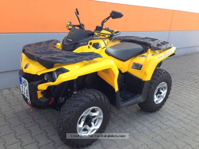 2013 Can Am  BRP Bombardier Outlander 500 Max LOF. Motorcycle Quad photo