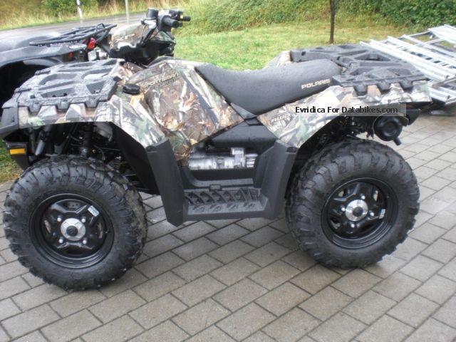 2012 Polaris  Sportsman 850 EFI Camo Motorcycle Quad photo