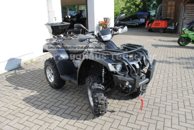 2012 Linhai  600 4x4 LOF / Accessories Motorcycle Quad photo