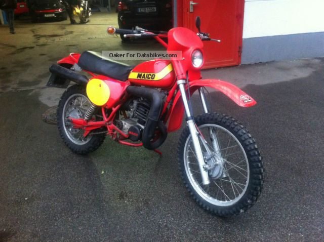 1978 Maico  GS 250 Motorcycle Rally/Cross photo
