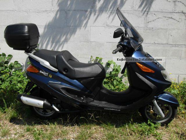 2002 Italjet  Millennium 125 Motorcycle Scooter photo