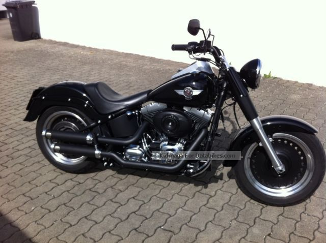 2013 Harley Davidson  Harley-Davidson Fat Boy Motorcycle Chopper/Cruiser photo