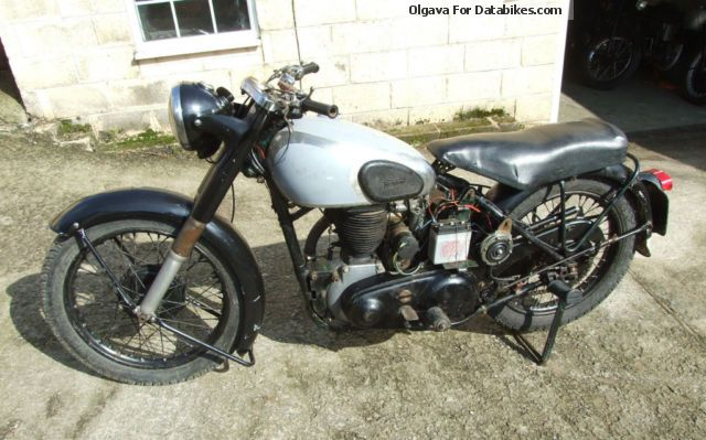 1952 Norton  Big 4 Motorcycle Motorcycle photo