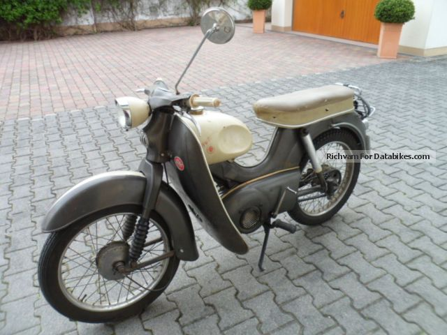 1963 Kreidler  Floret Motorcycle Motor-assisted Bicycle/Small Moped photo