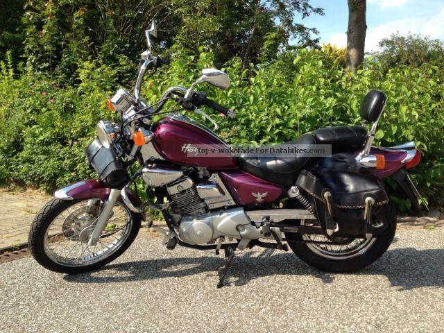 2001 SYM  Husky Motorcycle Lightweight Motorcycle/Motorbike photo