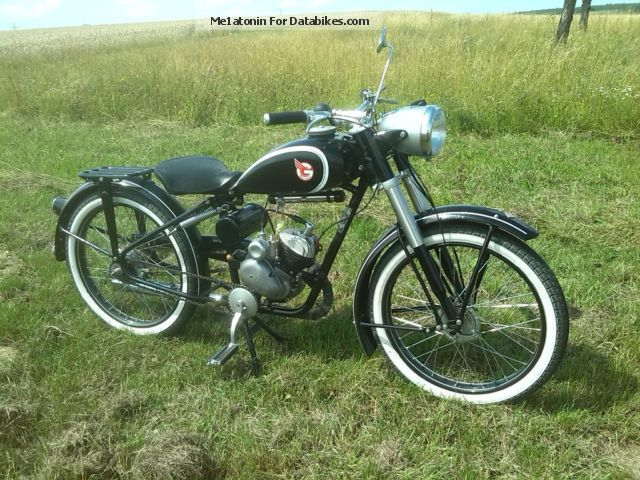 Sachs  Göricke 98er Fichtel \u0026 Sachs 1952 Vintage, Classic and Old Bikes photo