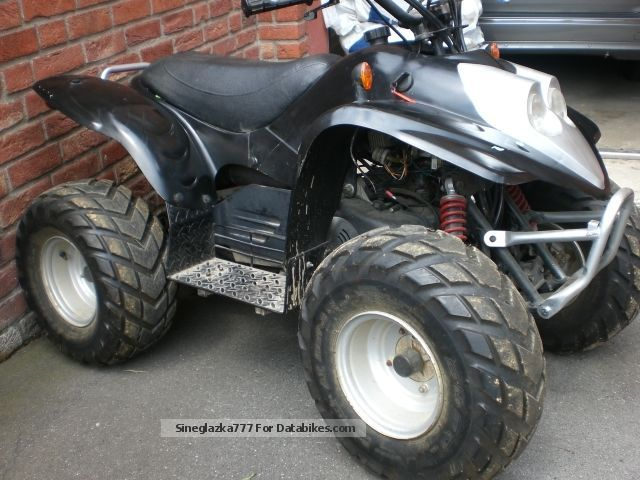 2003 CPI  100 Motorcycle Quad photo