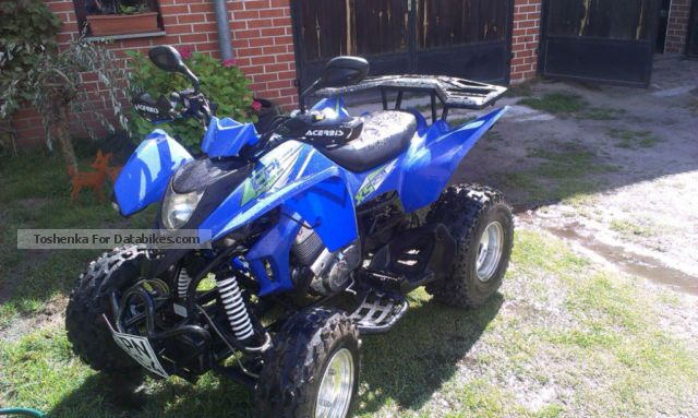 2006 CPI  250 Motorcycle Quad photo