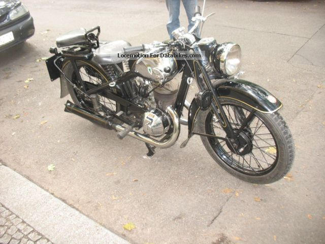 DKW  SB 350 1934 Vintage, Classic and Old Bikes photo