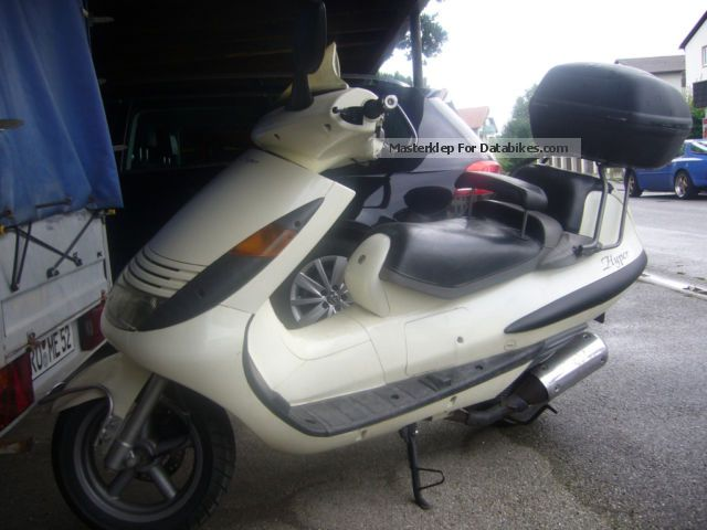2001 Hyosung  Hyper Motorcycle Scooter photo