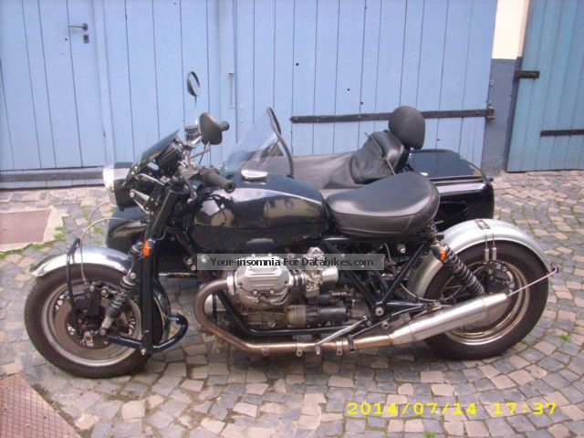 Moto Guzzi  Le Man 1 Geapann 1977 Vintage, Classic and Old Bikes photo