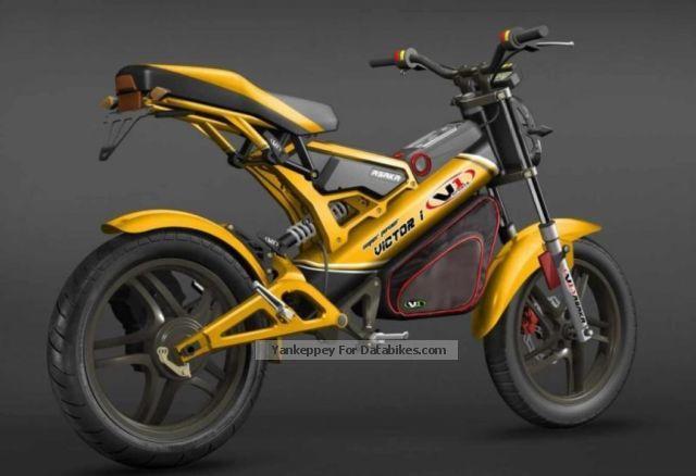 V Electric Bmw Motorcycle Or Ktm Quad