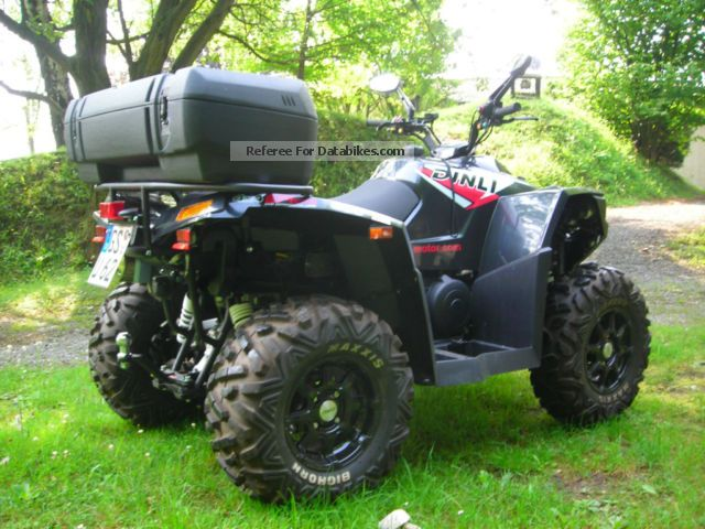 2014 Dinli  EVO 800 EFI EPS Motorcycle Quad photo