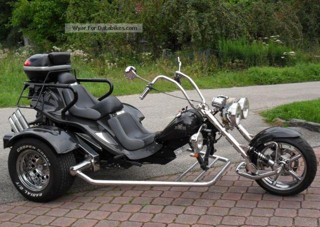 2009 Boom  Chopper Classic Motorcycle Trike photo