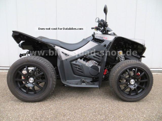 2013 Cectek  Estoc 500 T5 EZ.10.2013 2800km with warranty Motorcycle Quad photo