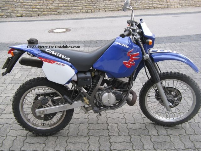 1997 Cagiva  125 W8 Motorcycle Enduro/Touring Enduro photo