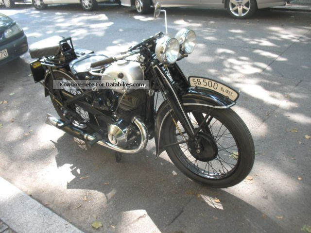 DKW  SB 500 luxury 1935 Vintage, Classic and Old Bikes photo