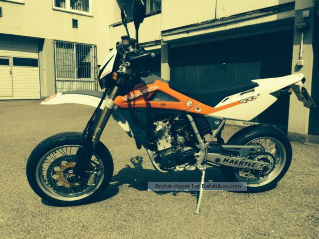 2007 Husqvarna  510 SM open, registered with 14 kw Motorcycle Super Moto photo