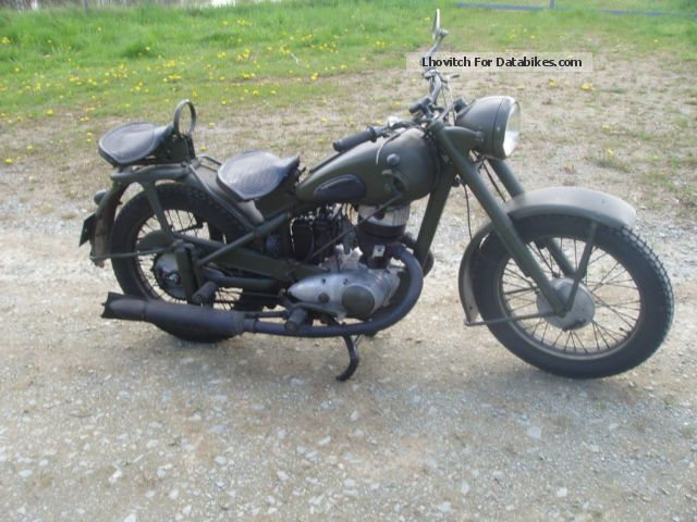 DKW  ish 49 1954 Vintage, Classic and Old Bikes photo