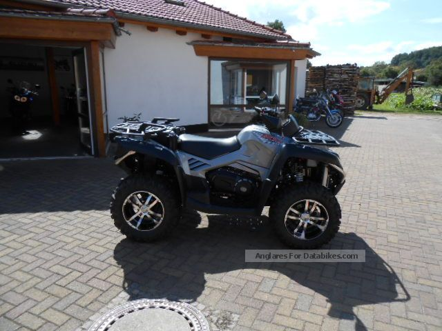 2014 CFMOTO  teraländer 800 LOF Schneschilt Motorcycle Quad photo