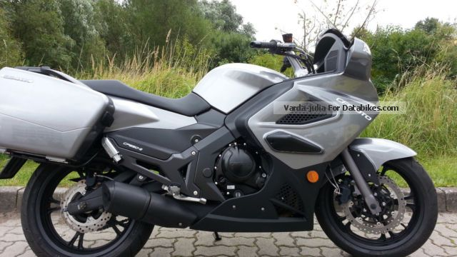 2014 CFMOTO  650 TK Motorcycle Tourer photo