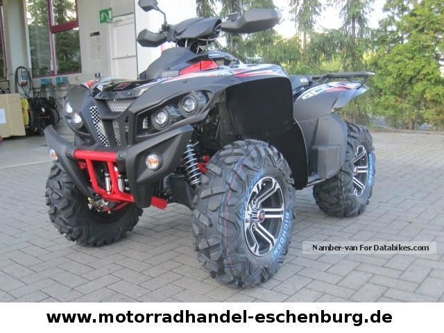 2012 Other  ACCES AMX 750 EFI LOF approval Motorcycle Quad photo
