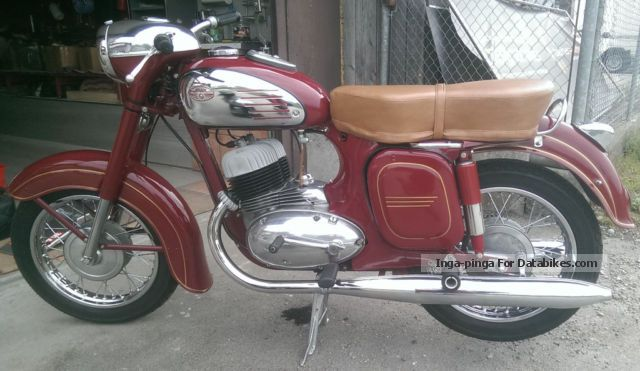 Jawa  350 1963 Vintage, Classic and Old Bikes photo
