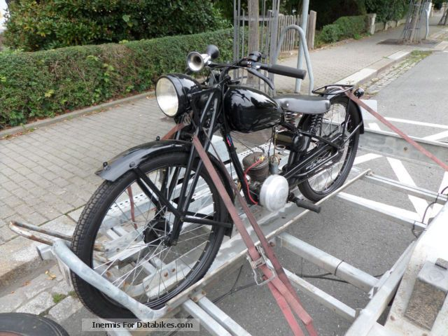 DKW  RT 100 1937 Vintage, Classic and Old Bikes photo