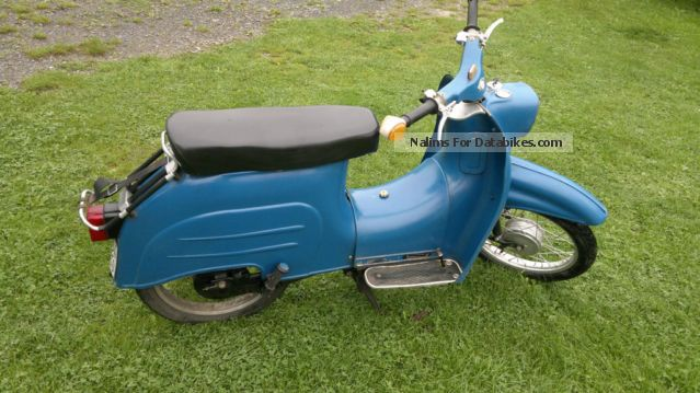 Simson  Kr 51 1972 Vintage, Classic and Old Bikes photo