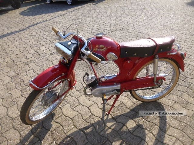 Other  Victoria Avanti 50cc 1960 Vintage, Classic and Old Bikes photo