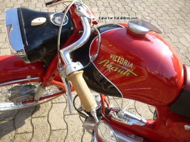 Power Assisted Bicycle >> 1960 Victoria Avanti 50cc