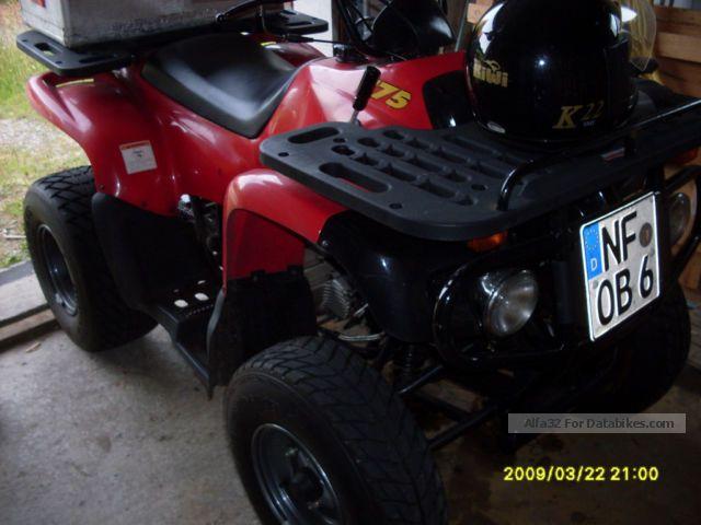 2009 Kymco  Motortek MT-175H Motorcycle Quad photo