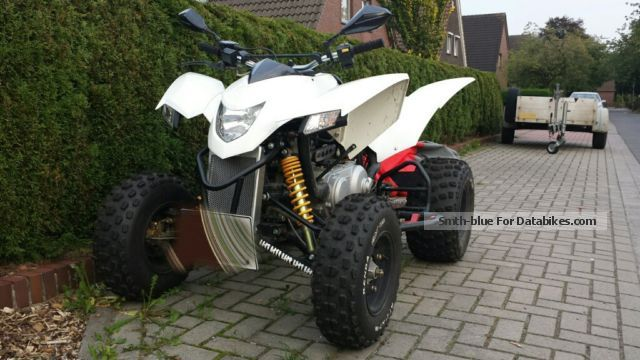 Explorer  Trasher 320 2014 Quad photo