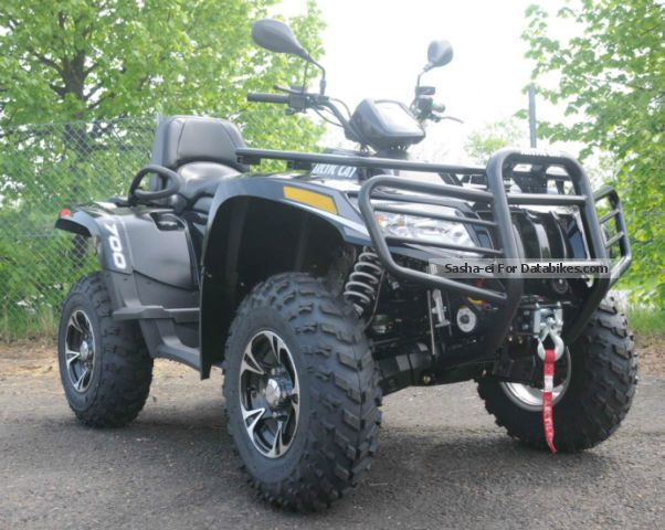 2012 Arctic Cat  TRV 700 I XT car Langer Radst. Servo Motorcycle Quad photo