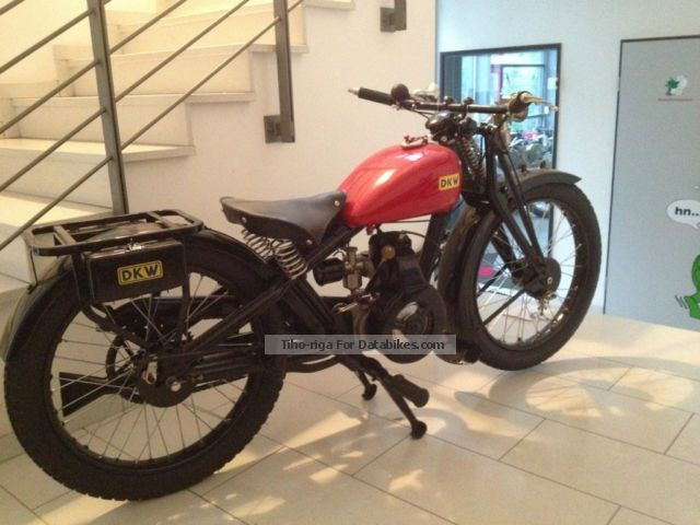 DKW  Blood blister Luxury 200 1928 Vintage, Classic and Old Bikes photo