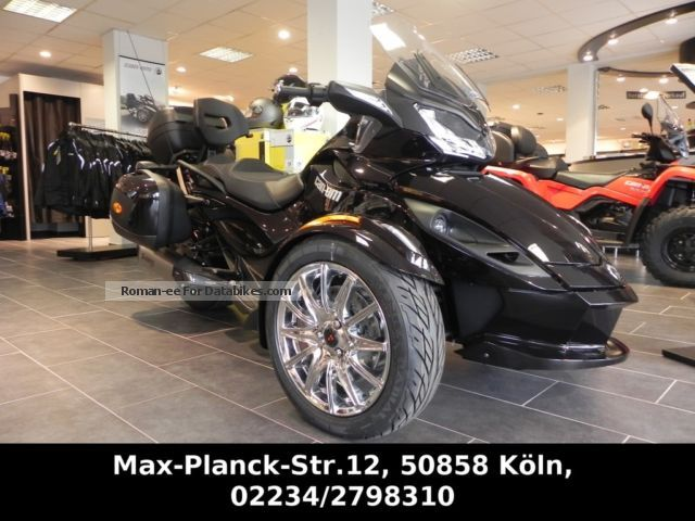 2012 Can Am  ST LTD Limited with special equipment Motorcycle Trike photo