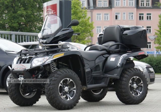2013 Arctic Cat  700i XT 4x4 Long 2Sitzer winch Motorcycle Quad photo