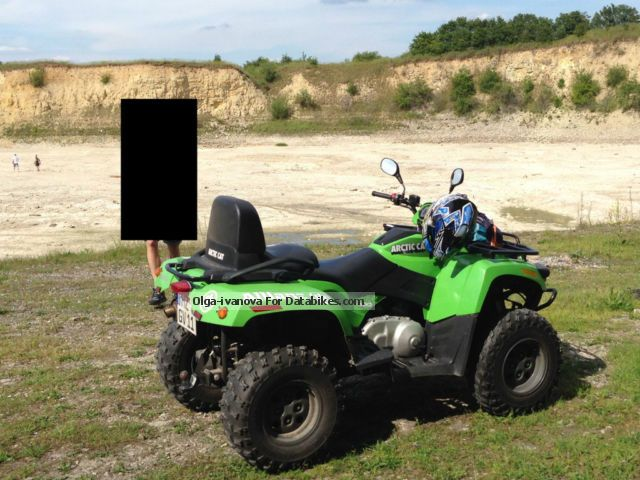 2007 Arctic Cat  ATV long version Motorcycle Quad photo