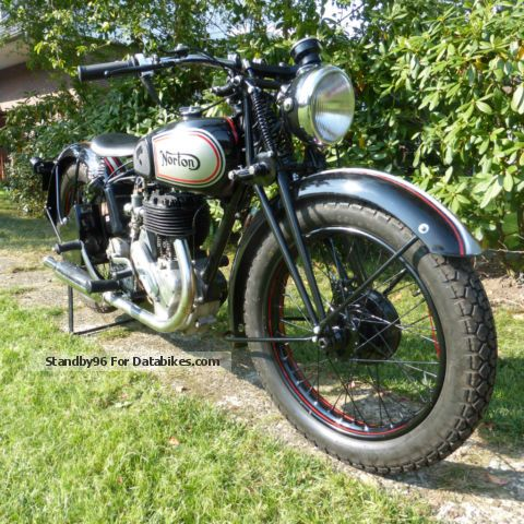 Norton  16 H 1938 Vintage, Classic and Old Bikes photo