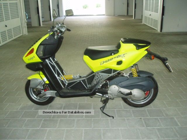 2007 Italjet  Dragster 125 Motorcycle Scooter photo