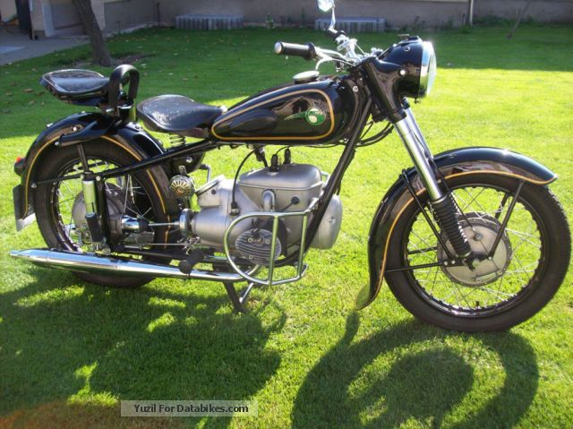 Mz  BK 350 1961 Vintage, Classic and Old Bikes photo