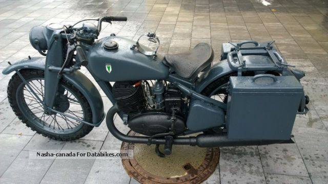 DKW  NZ500 1944 Vintage, Classic and Old Bikes photo