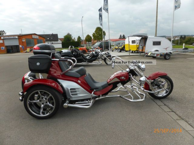 2009 Boom  V2 Automatic & quot; Trend & quot; Motorcycle Trike photo