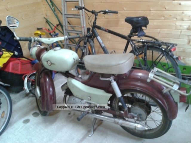 Simson  Sparrow 1969 Vintage, Classic and Old Bikes photo